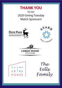 Giving Tuesday 2020 Sponsors