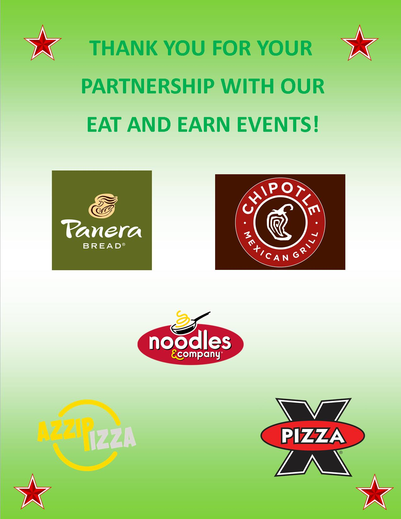 Eat-and-Earn 2020-2021 Sponsors